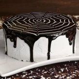 Tort alb negru