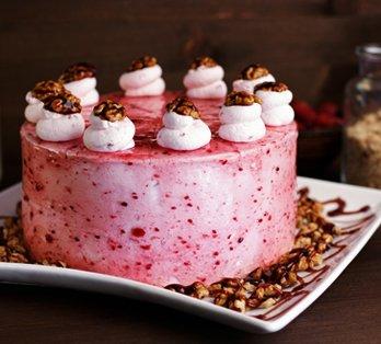Tort zmeura si nuci